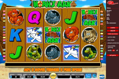 Noahs Ark Slot Screenshot